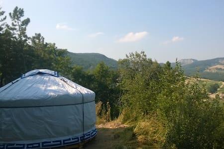 Yurta nel verde al Casale di Montondo - Sestino