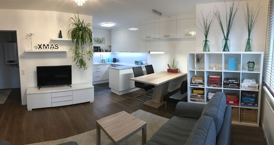 FREE parking | 6 mins to U4 | Green quiet district - Wien - Apartment
