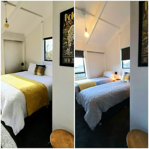 Bedroom 3 This room can be configured to two single beds OR one King-Sized bed - perfect for couples, friends or children  Let us know your preference as you book
