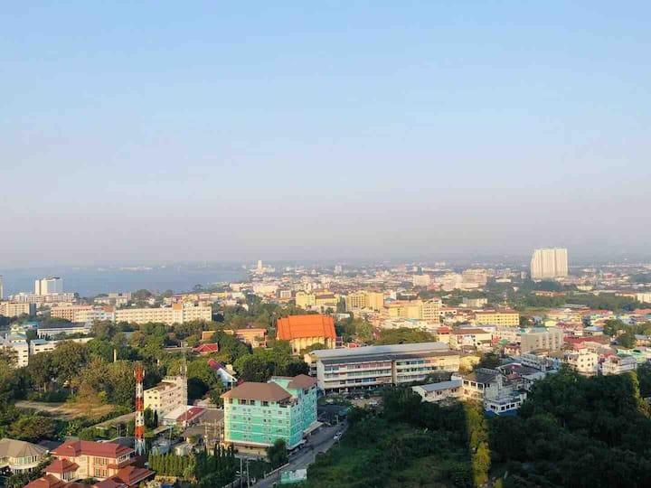 G3 Lumpini高层精装公寓/无边泳池/健身房/24小时双条车,订房优惠加V:A0ZJ20