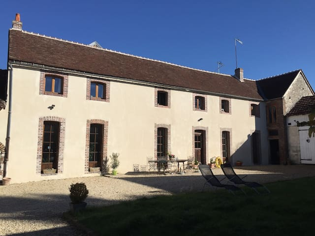BUGUNDY FARM VERRY COMFORTABLE  - Paroy-sur-Tholon - House