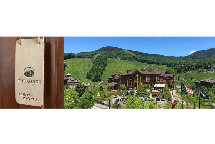#1434 * Lodge at Spruce Peak | Ski in Ski out | Studio | Expansive 4th floor views of Spruce Peak and Village