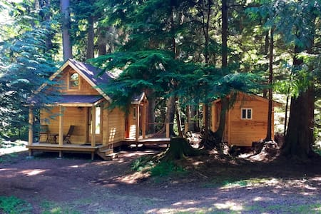 Eco-Friendly Tiny House - Vashon - 통나무집