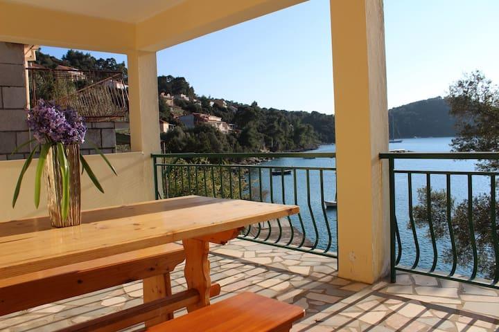 Franka - spacious house in the lovely bay of Brna - Smokvica - Casa