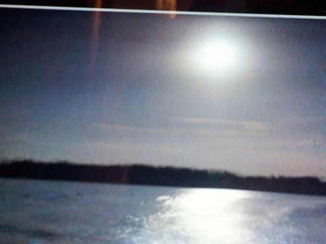 Glistening waters of the Luminous Lagoon - Trelawny