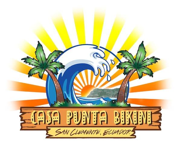Casa Punta Bikini Hostal 3 person 1 - san clemente manabi ecuador - Bed & Breakfast