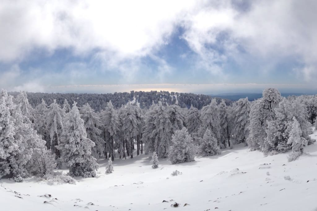 Stunning view from Troodos
