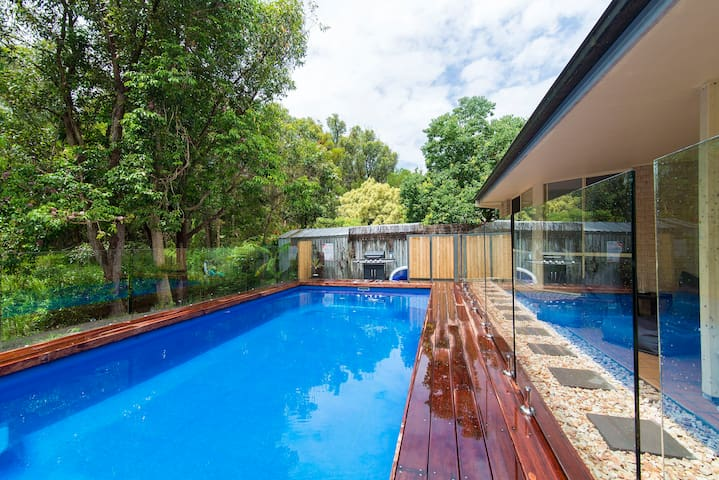 Byron family home with private pool - Byron Bay - Huis