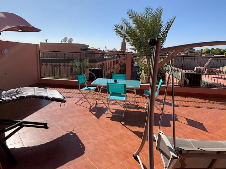 Appart charmant ds Residence 3CH, WIFI & Netflix,