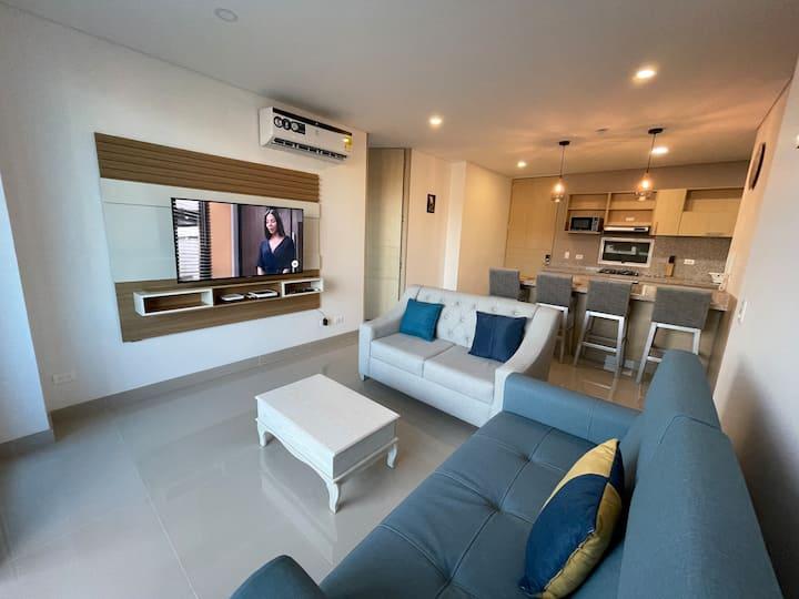 Apartment with Direct Access 2 Playa Salguero Beach