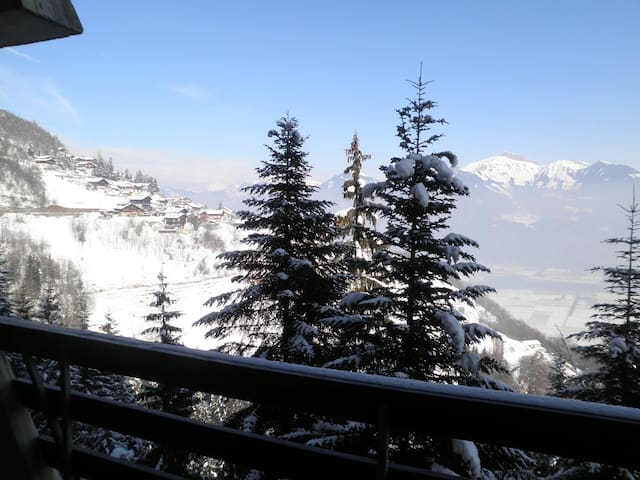 Appartement montagne- 8  pers-Valais - Torgon - Wohnung