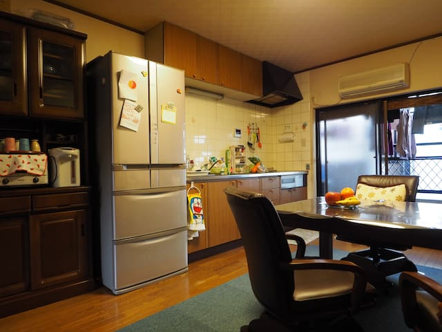 【1日1组限定】在大阪一户建Same's home, 和房东same一起真实体验日本的日常生活