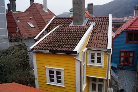 Traditional small Bergen house