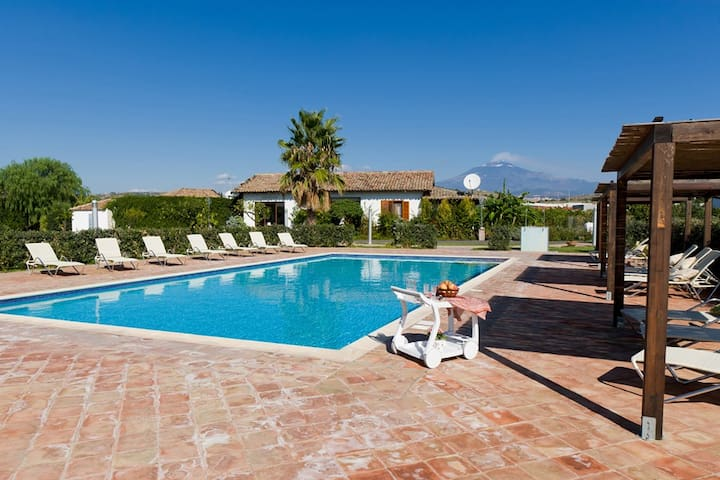 Amazing villa in agriturismo b-sud - Misterbianco (CT) - Willa