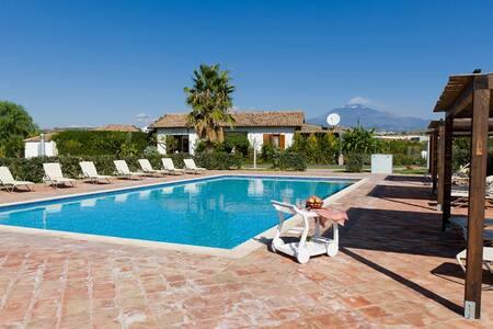 Amazing villa in agriturismo b-sud - Misterbianco (CT) - Villa
