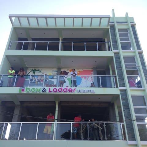 Boracay Box & Ladder Hostel 5 - Malay - Slaapzaal