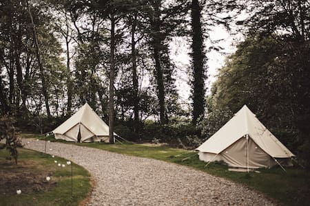 Glamping tents at Ballyvolane house - Castlelyons