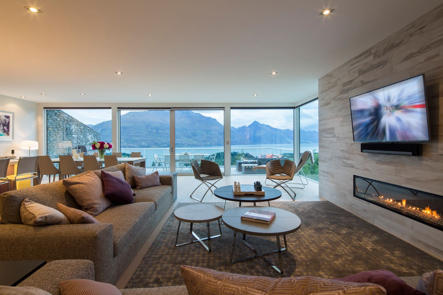 guests will enjoy the SKY TV with Netflix, surround sound and board games