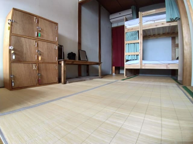 6 beds Female Dormitory- bathroom, kitchen shared