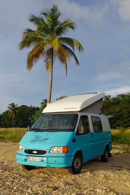 Cars Camper Guadeloupe