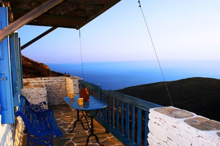 The farmhouse with amazing seaview in Folegandros. - Ano Meria