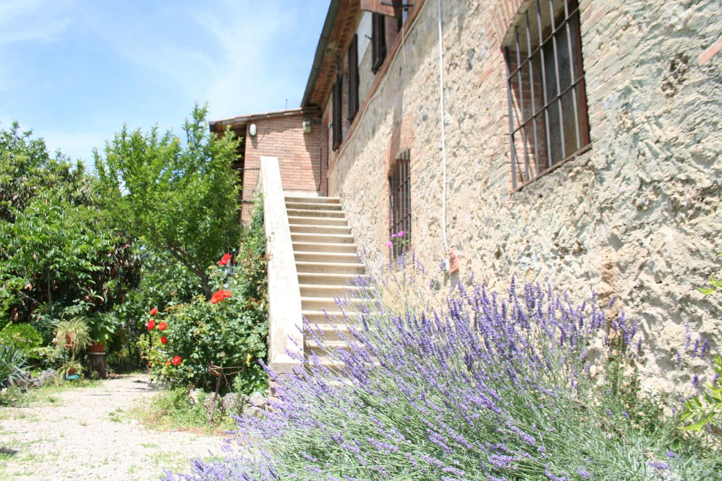 Ingresso bed and breakfast Santa Caterina