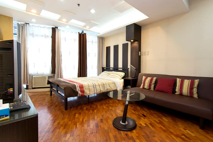 Ortigas Center Furnish Studio unit - Pasig