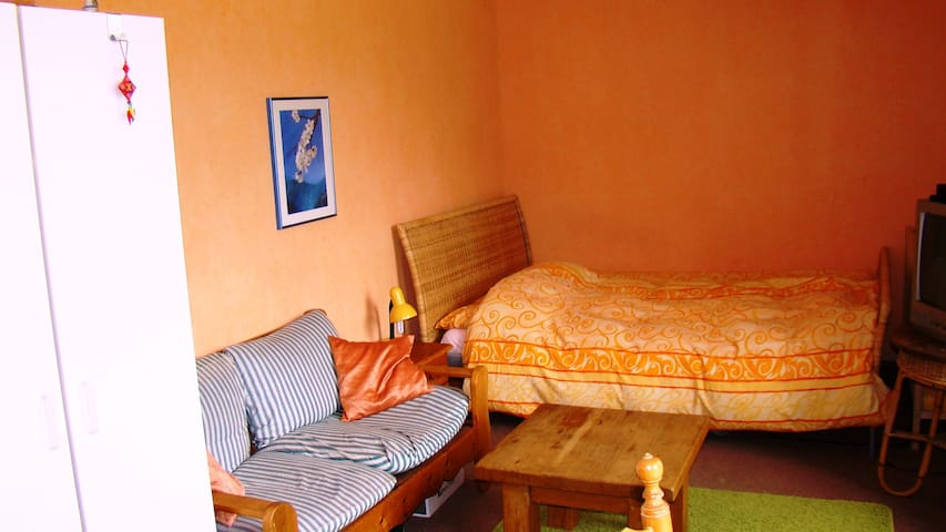 Big Bedroom with double bed in beau - Groningen - Dům