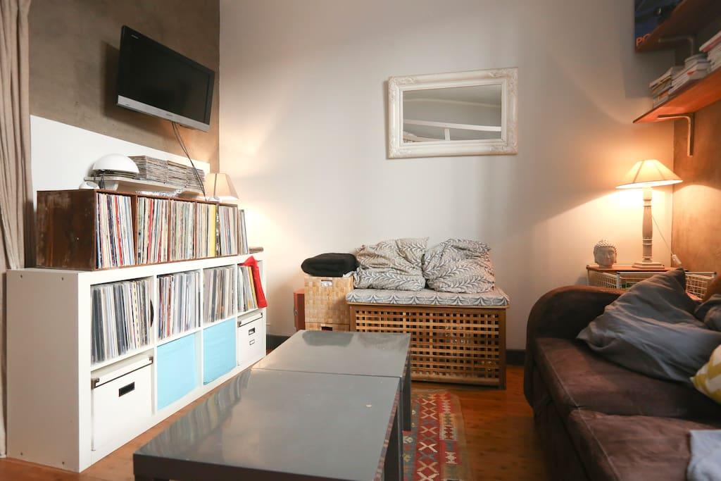 Cosy 25m2 appartement paris 11 appartements louer - Interieur appartement original et ultra moderne a paris ...