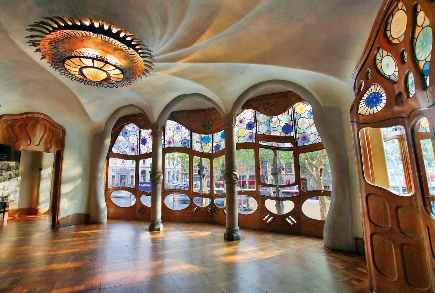 DOS NOCHES EN CASA BATLLÓ - Casas en alquiler en Barcelona ...
