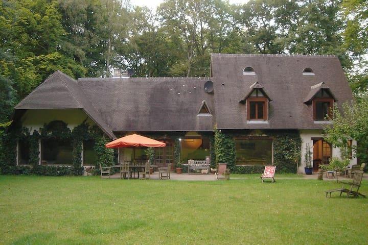 Près de Deauville Maison Familiale - Saint-Gatien-des-Bois - Casa