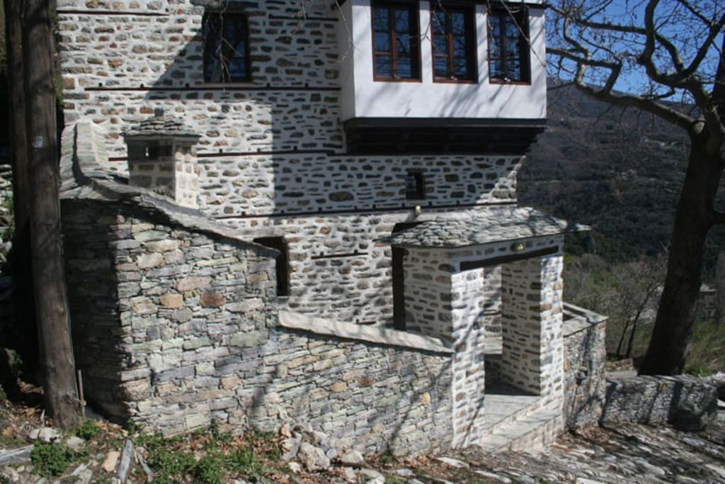 Picturesque traditional stone house