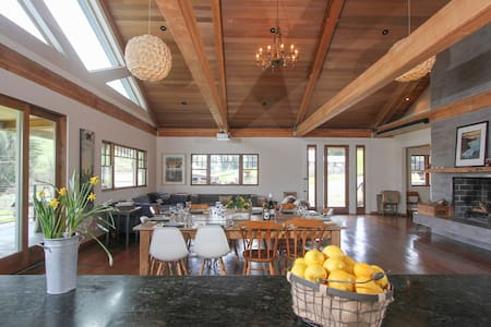 Modern Farm House on Goat Dairy - Tomales - 独立屋