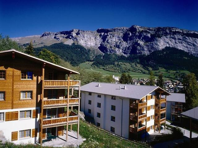 Hapimag Resort Flims, (Flims Waldhaus), 2629, Apartment with 2 bedrooms with view on the mountains