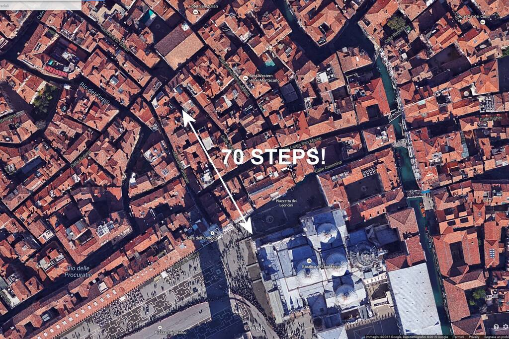Only 70STEPS! from Saint Mark's Cathedral