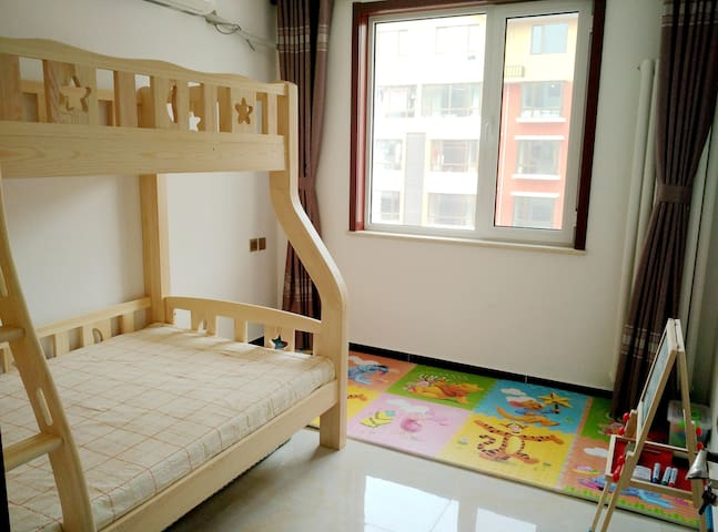 可凡之家·亲子3卧A套(3卧室,2卫生间,2厅,110平米) - Beijing - Pis