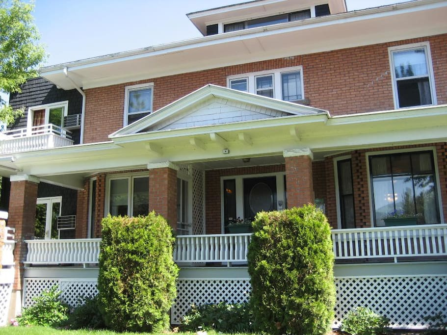 Historic, Clark Fork Riverfront accommodations in downtown Missoula!
