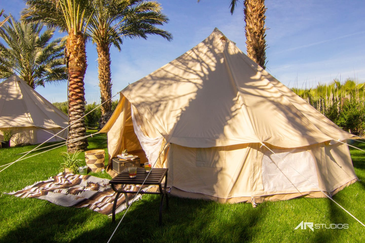 Unfurnished Bell Tent