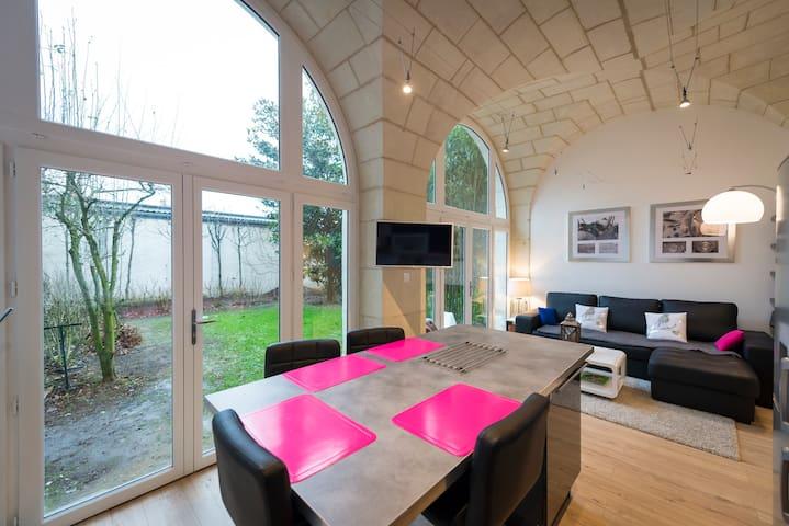 GITE DE CHARME SAUMUR CENTRE JARDIN - Saumur - Apartamento