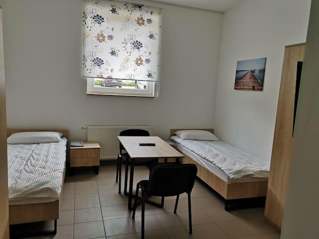 Einzelzimmer 2 Pers Etagenbad Küche near Stuttgart