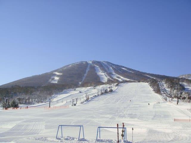 Appi Kogen Ski Resort Condo 安比高原スキーリゾート内安比グランドヴィラ2 - Hachimantai - Kondominium