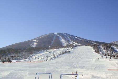 Appi Kogen Ski Resort Condo 安比高原スキーリゾート内安比グランドヴィラ2 - Hachimantai - Condominium