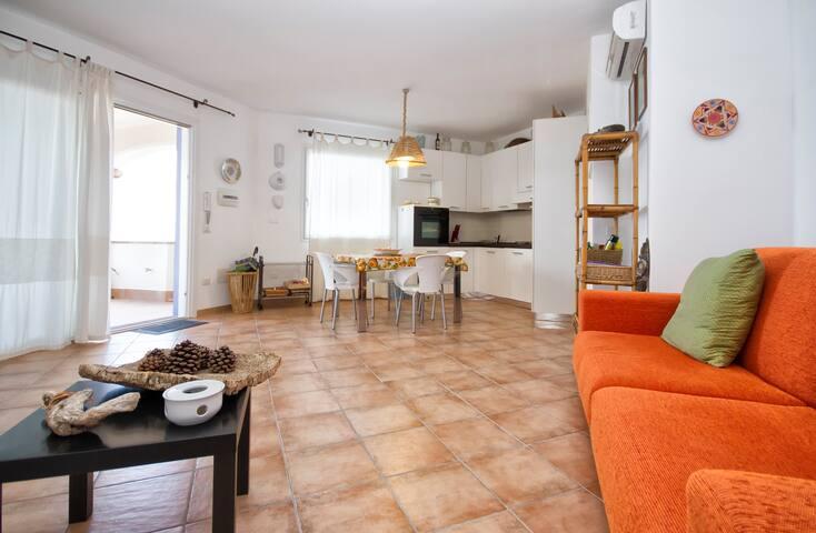 Appartement, 2 terrasses, vue mer