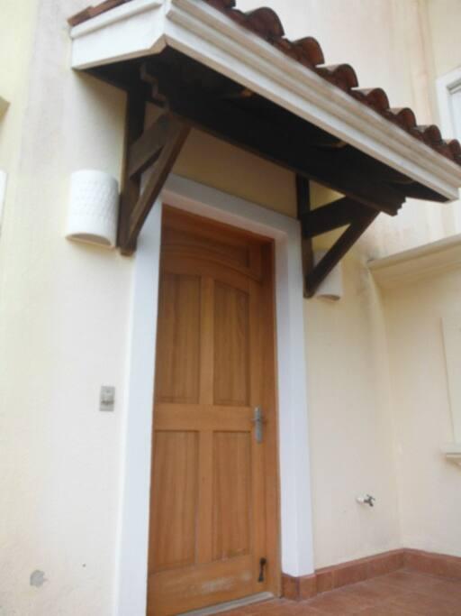 SunFish apartment front door