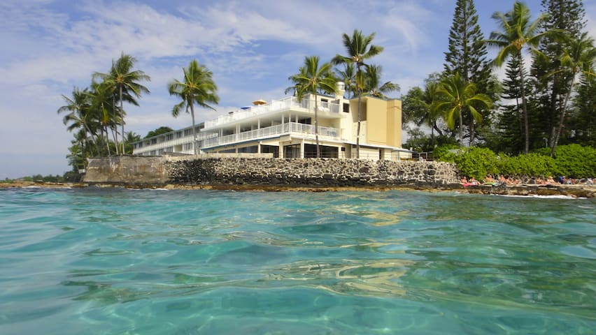 On the Ocean next door to Beach - Kailua-Kona - Wohnung