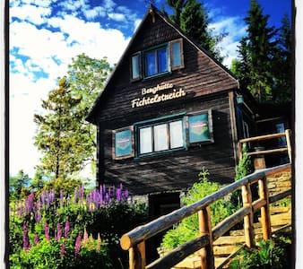 Cozy Mountain cabin Fichtelstreich - Kurort Oberwiesenthal - 小木屋