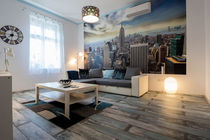 Brand new apartment, introductory offer, Nespresso