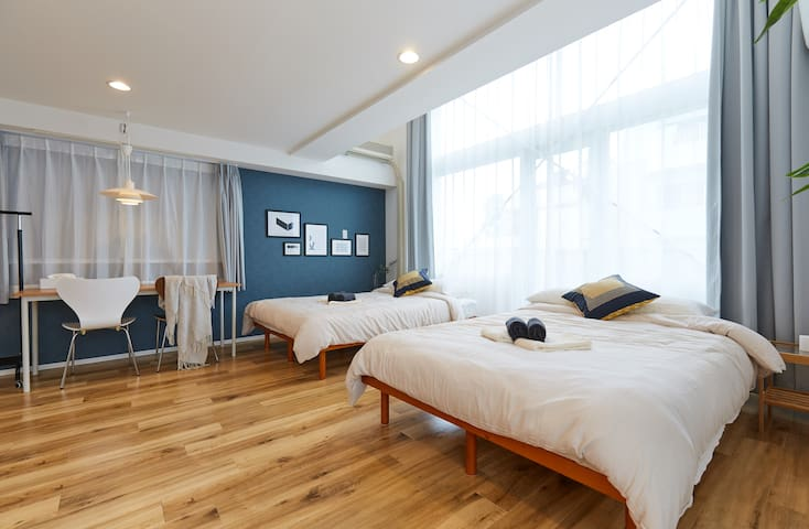 Specious 70sqm Top Floor Flat near Asakusa w/ WiFi