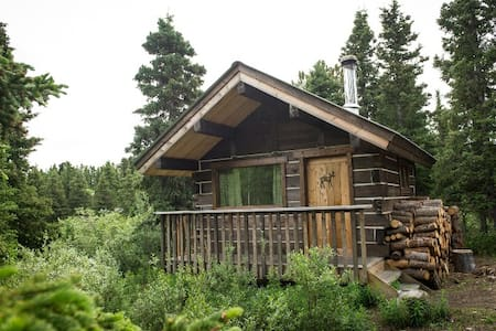 Cozy Cabin in the Woods - Whitehorse - Stuga