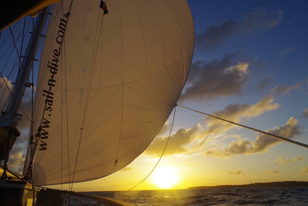 following the sunset...Grenada